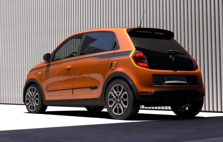 Oranje GT editie van Renault Twingo