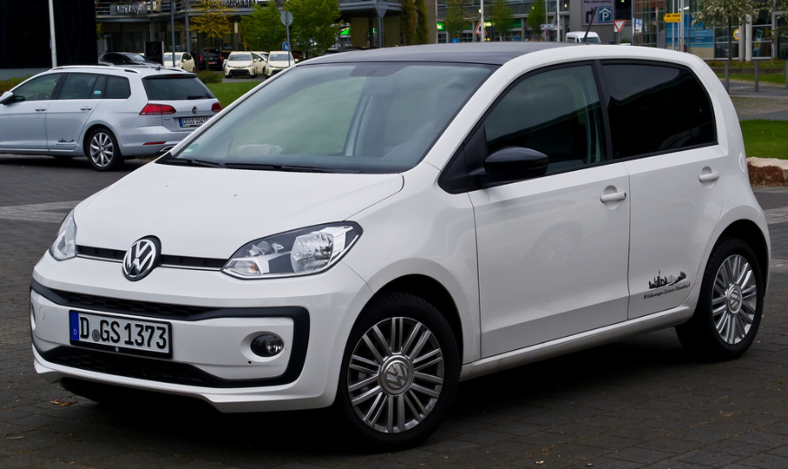 VW Up Buiten