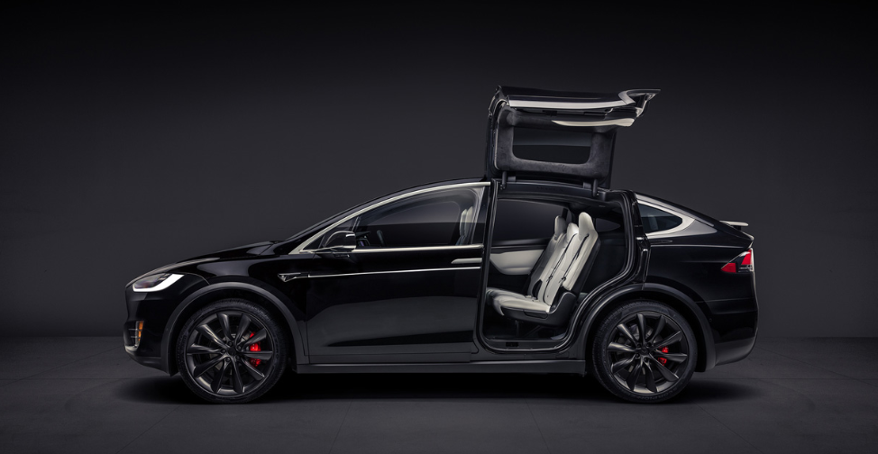 Tesla Model X Zwart