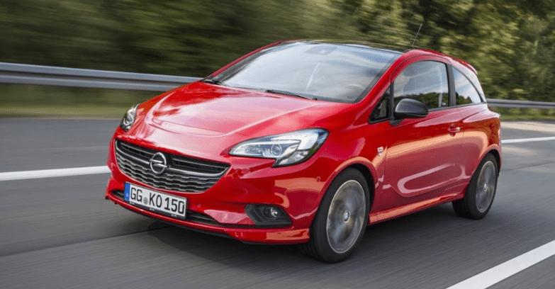 Opel Corsa Rood