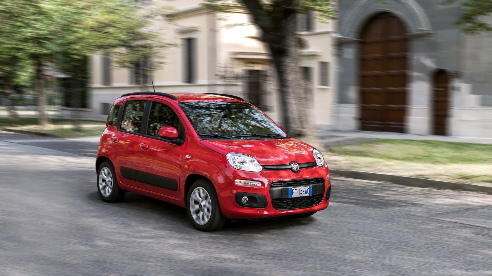 Fiat Panda Voorkant