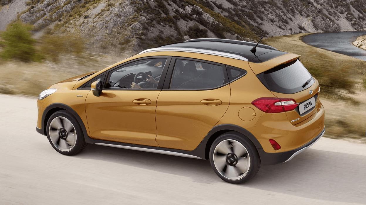 Ford Fiesta Active zijkant