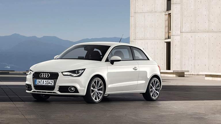 Audi A1 wit