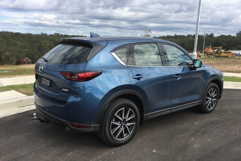 Mazda Cx-5 zijkant