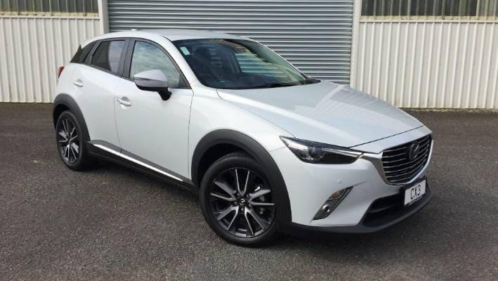 Mazda wit voor