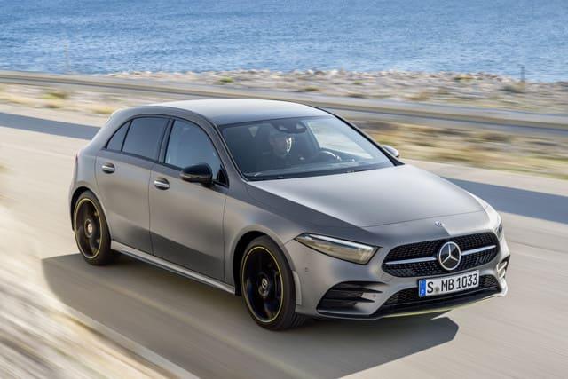 Mercedes A klsse grijs