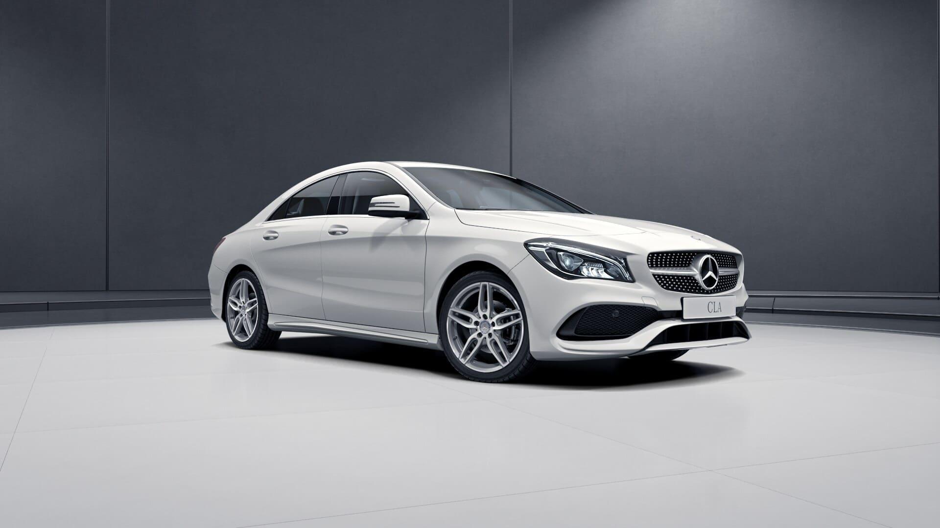 Mercedes CLA voor