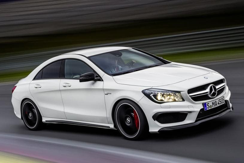 Mercedes CLA white