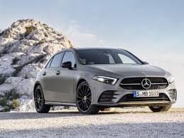 Mercedes voor schijn grijs