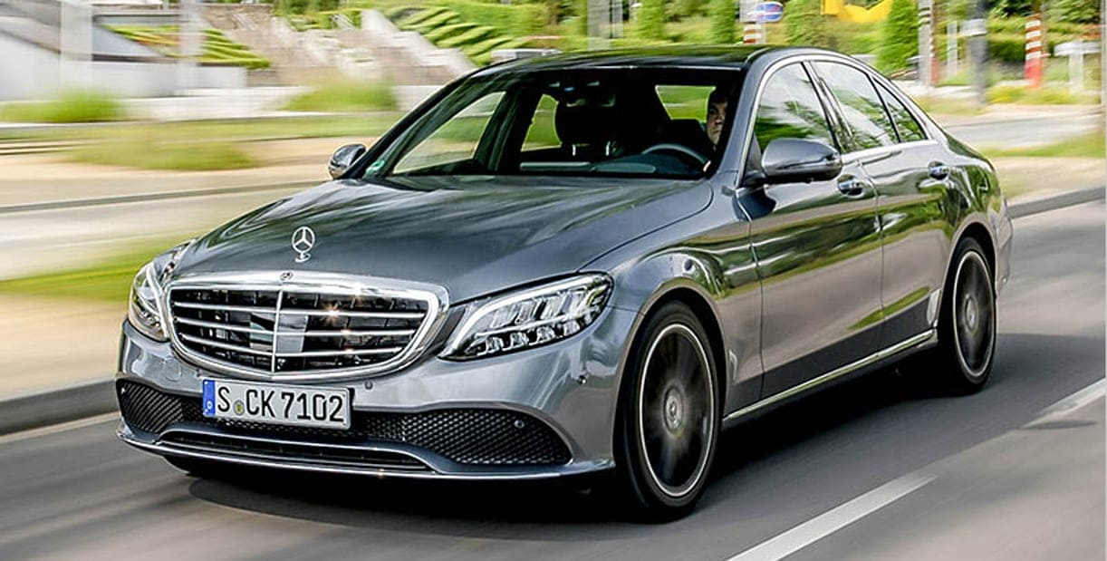 Mercedes C klasse voor