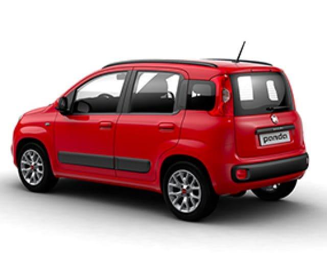 Fiat Panda rood