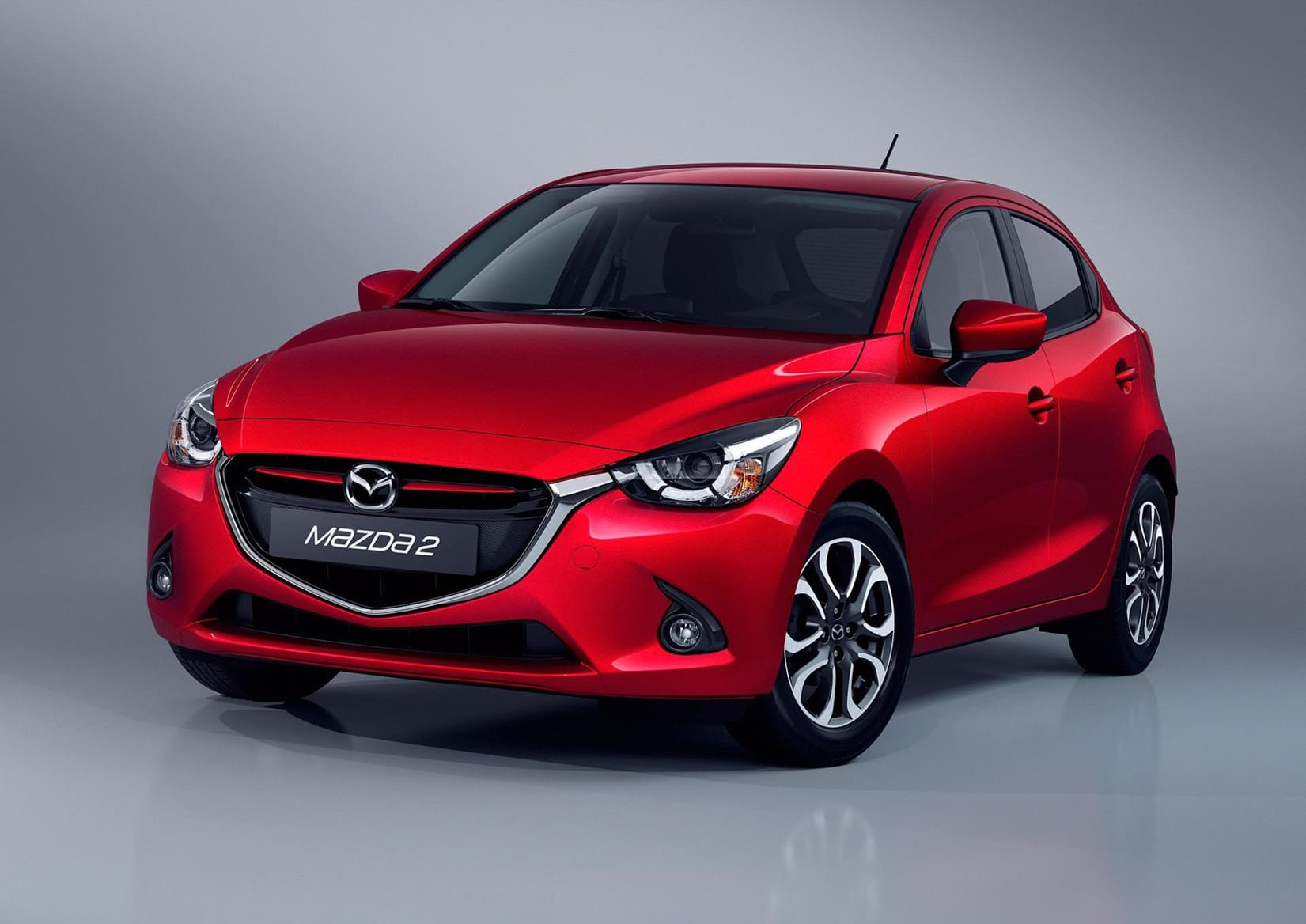 Mazda 2 Rood Voor