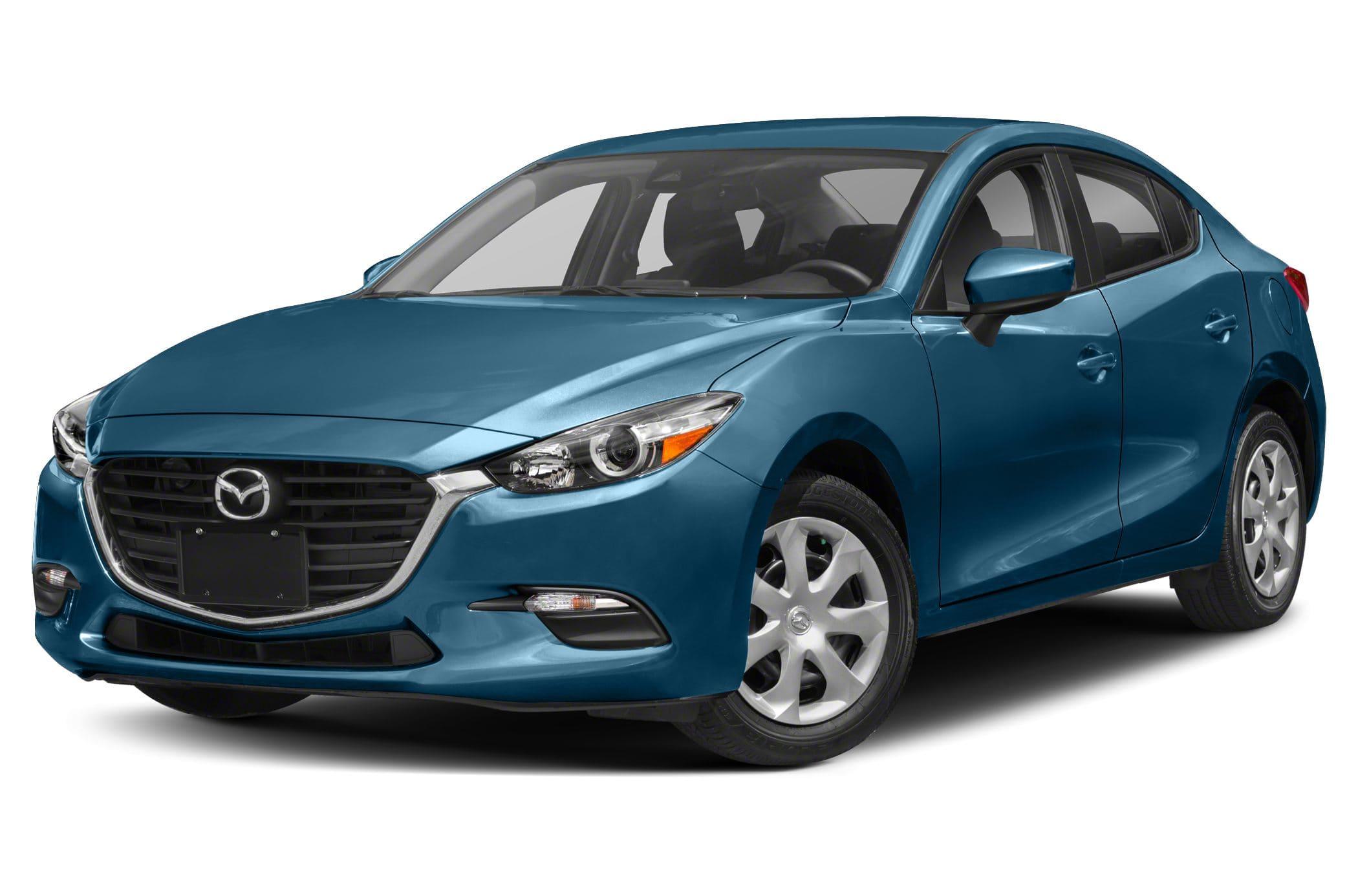 Mazda 3 Blauw Voor