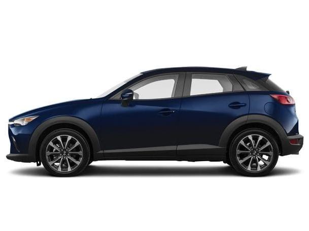 Mazda - donker blauw - CX3