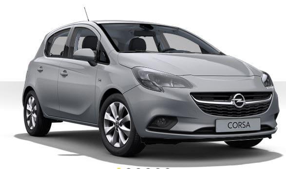 Opel Corsa grijs