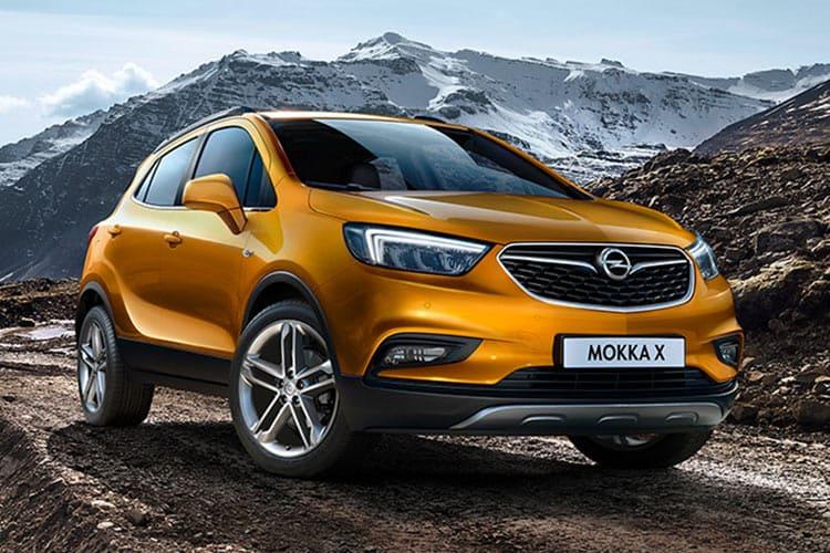 Opel Mokka Voor