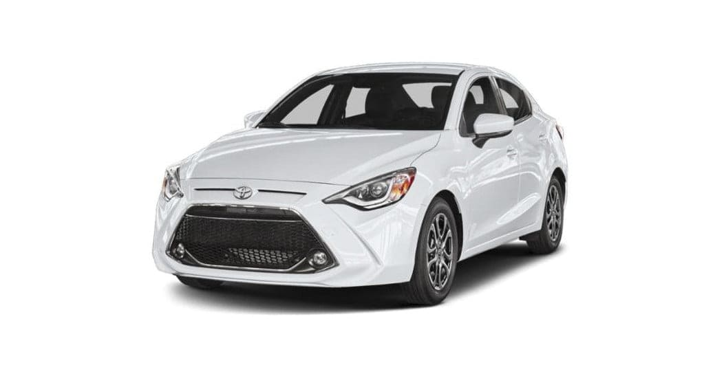 Toyota Yaris Voor Wit