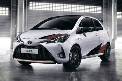 Toyota Yaris Wit Rood wit
