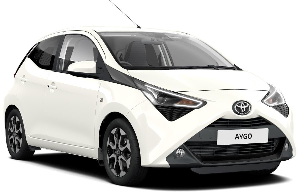 Toyota aygo voor wit