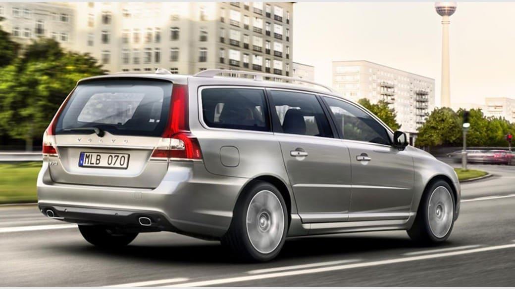 Volvo V70 grijs