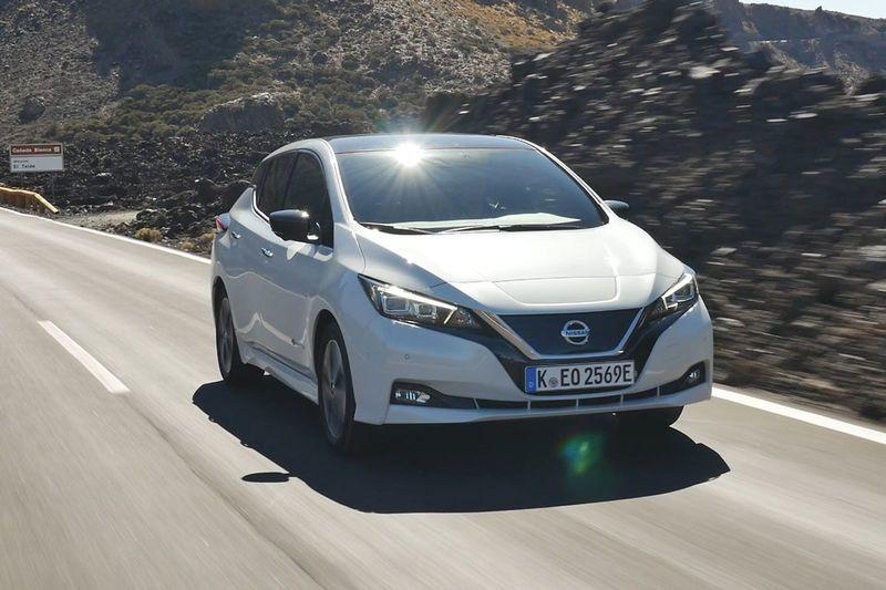 Nissan Leaf Voor Wit