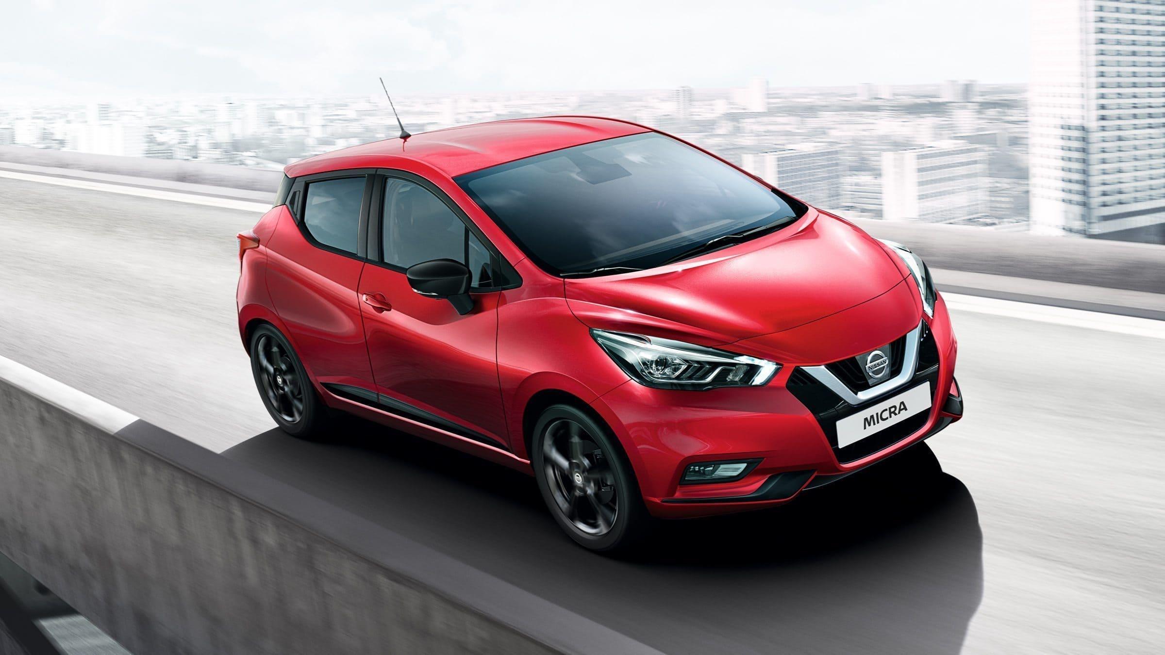 Nissan-Micra-Rood