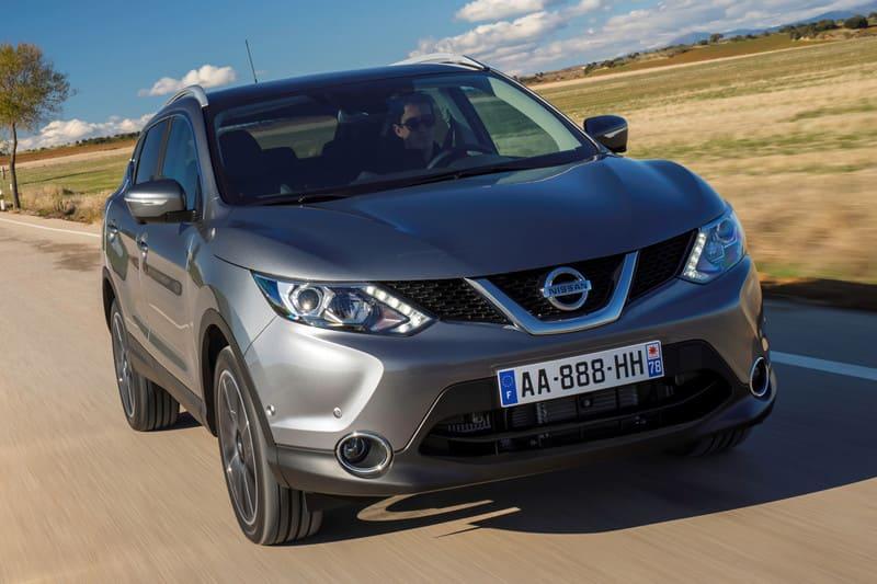 Nissan Qashqai Grijs voorkant