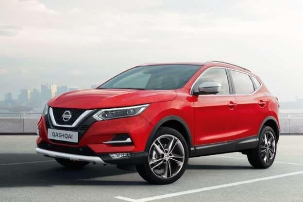 Nissan Qashqai Voor rood