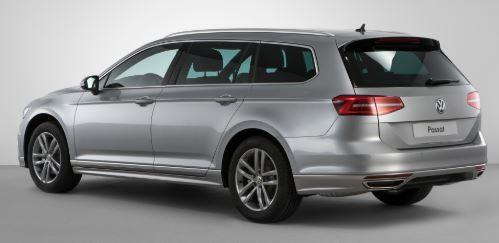 VW Passat Zijkant