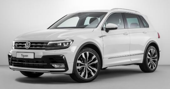 Volkswagen Tiguan White