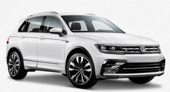 VW Tiguan Voorkant
