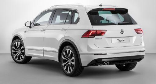 VW Tiguan Achterkant