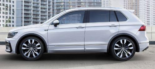 VW Tiguan Zijkant
