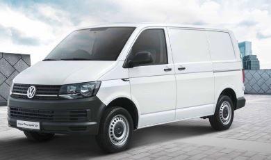 VW Transporter Zijkant