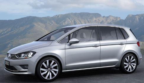 VW Golf Sportsvan Zijkant