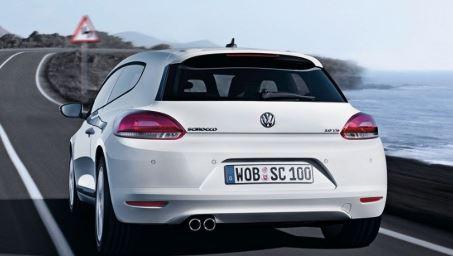 VW Scirocco Achterzijde