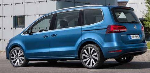 VW Sharan Achterkant