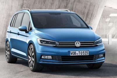 VW Sharan voorkant