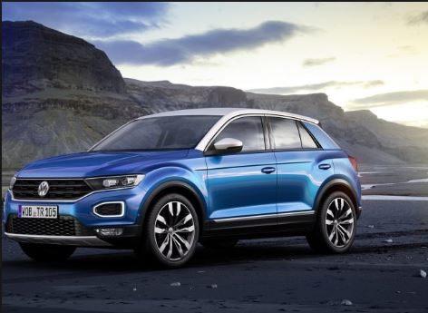 Volkswagen T-Roc Blauw