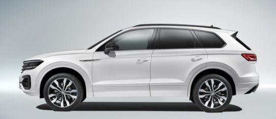 VW Touareg Zijkant