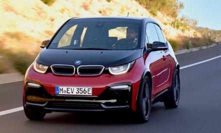 BMW i3 Rood/Zwart