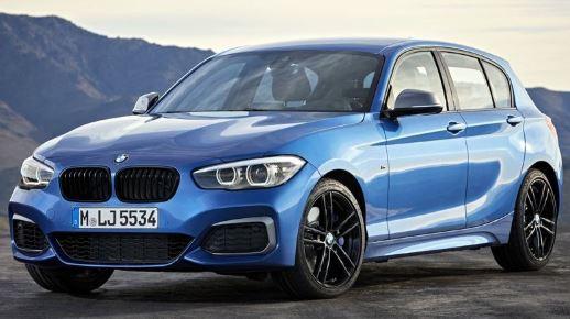 BMW 1 Serie Voorzijde