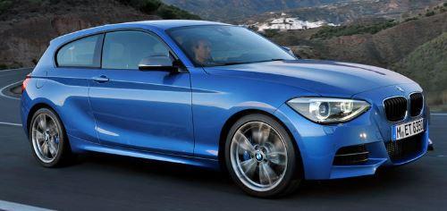 BMW 1 Serie Zijkant