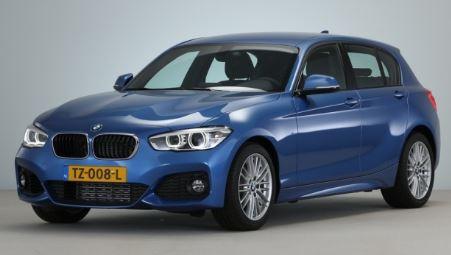 BMW 1 Serie Voorkant