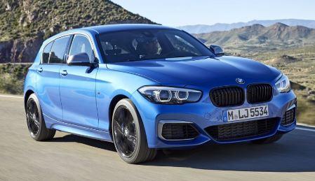 BMW 1 Serie Blauw