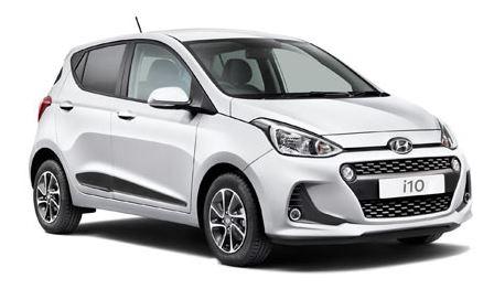 Hyundai i10 Voorkant