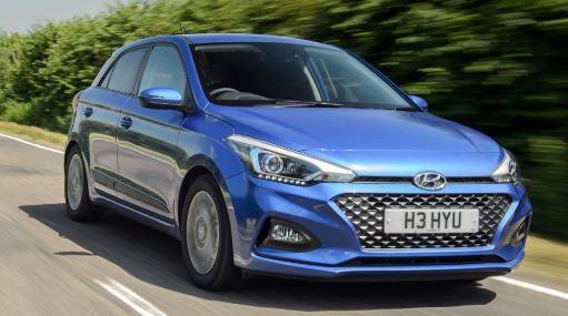 Hyundai i20 Blauw
