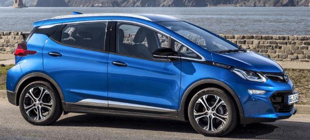 Opel Amera Zijkant