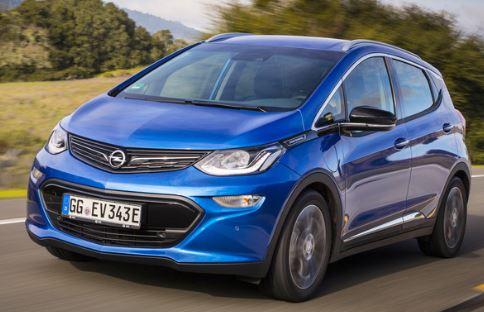 Opel Ampera Voorkant