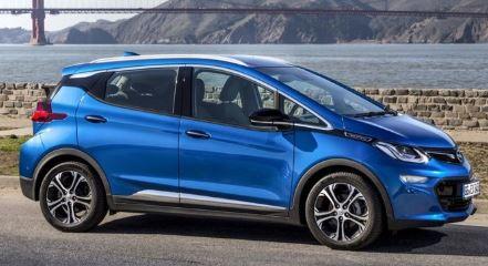 Opel Amera Blauw